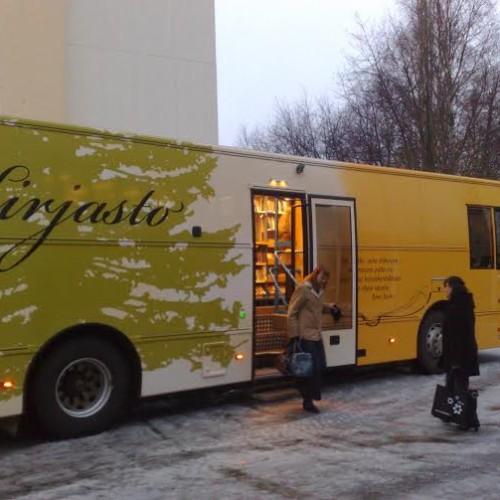 Bibliobus u Kajaani, Finska.