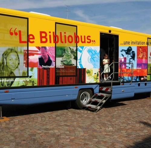 Bibliobus regije Alsace, Francuska.