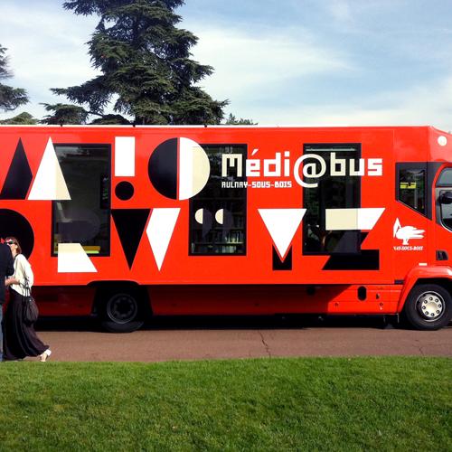 Médiabus u d'Aulnay-sous-Bois, Francuska.